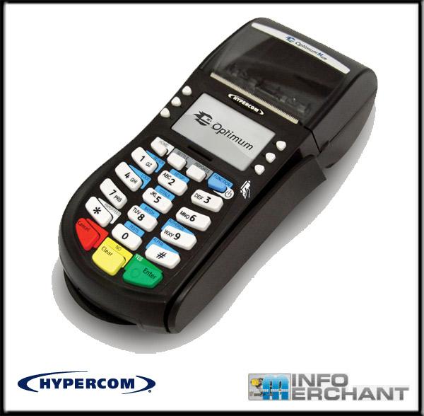 Infomerchant Hypercom Optimum M4230 Terminal Credit