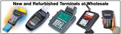 New and Refurbished Credit Card Terminals